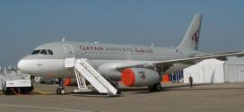"""""""القطرية"""" تدشن أولى رحلات الإيرباص A380 لمطار هيثرو"""