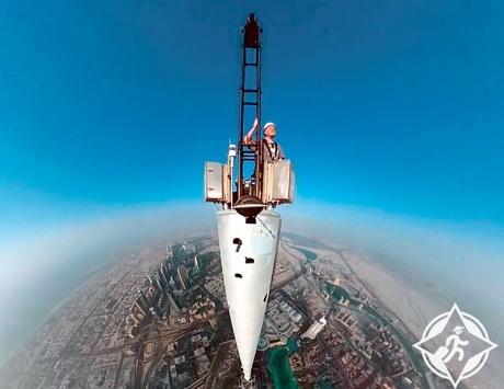 دبي من برج خليفة