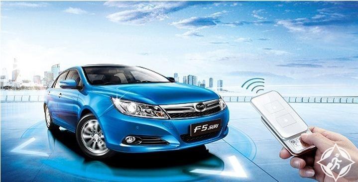 سيارة صينية دون سائق