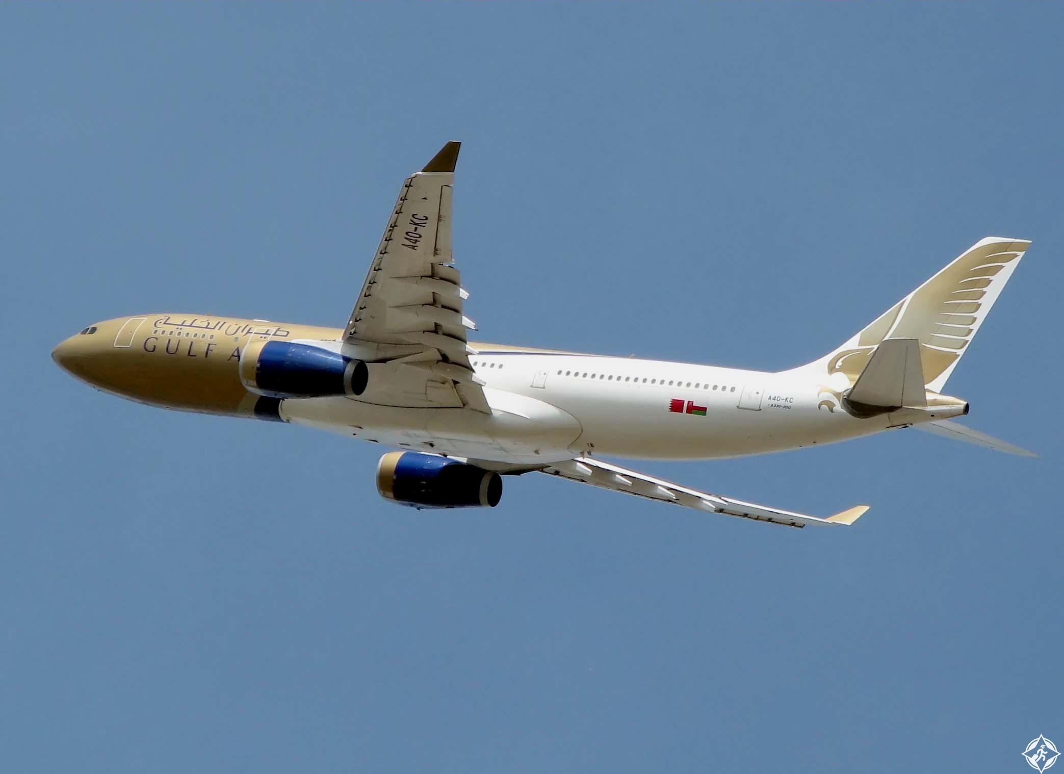 طيران الخليج a330