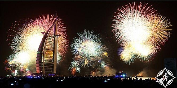 احتفالات دبي