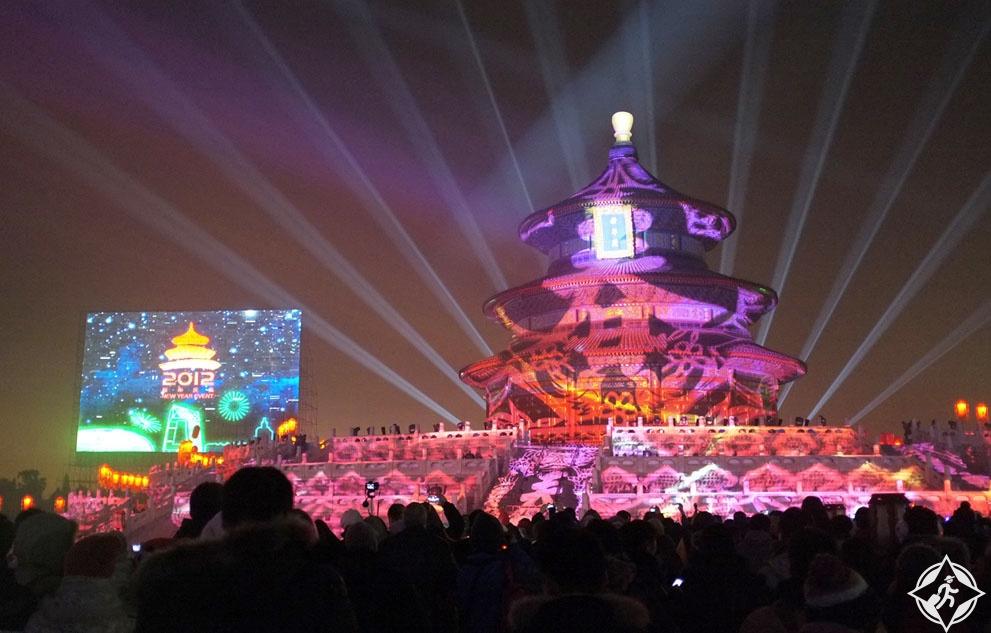 احتفالات ليلة رأس السنة الجديدة (8) هونج كونج