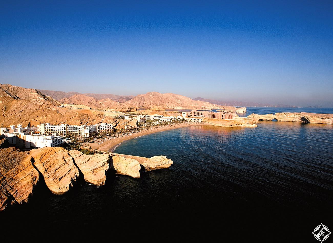 فندق شانغريلا الجيسة سلطنة عمان
