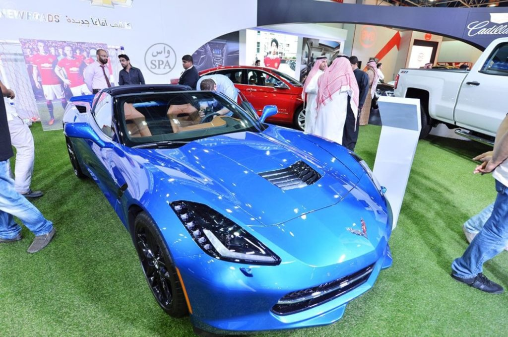 معرض السيارات السعودي الدولي 2014