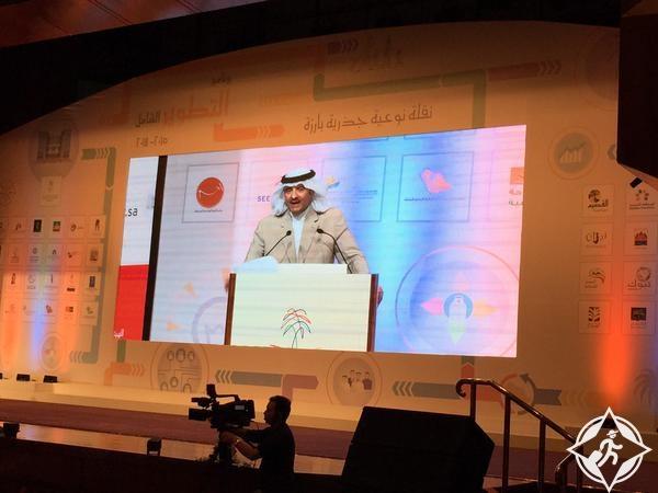 الأمير سلطان بن سلمان في ملتقى الوان السعودية