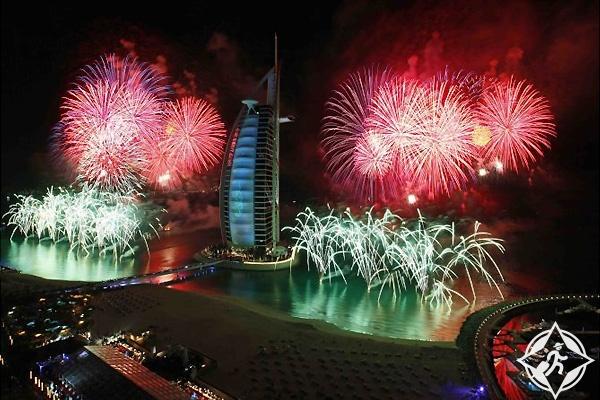 فنادق دبي ليلة رأس السنة فندق برج العرب