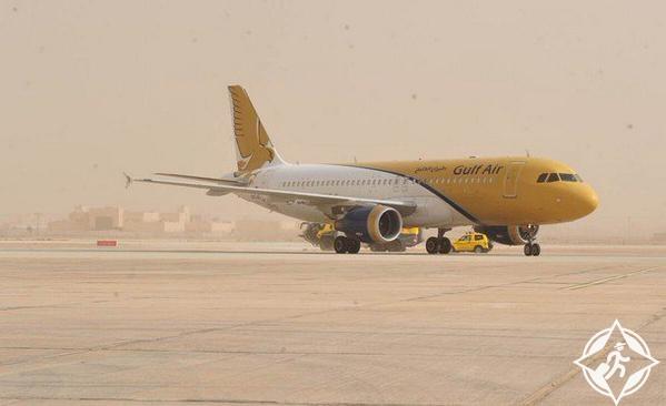 أولى رحلات طيران الخليج الى القصيم