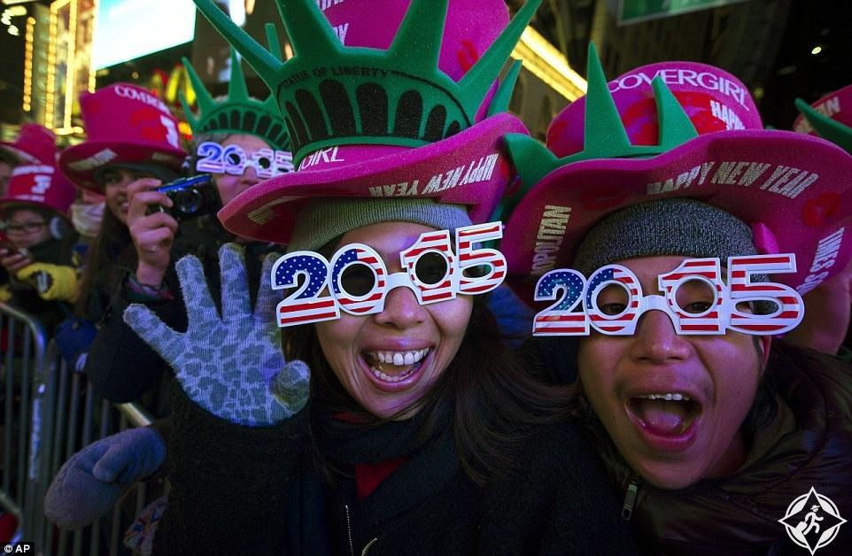 رأس السنة في نيويورك