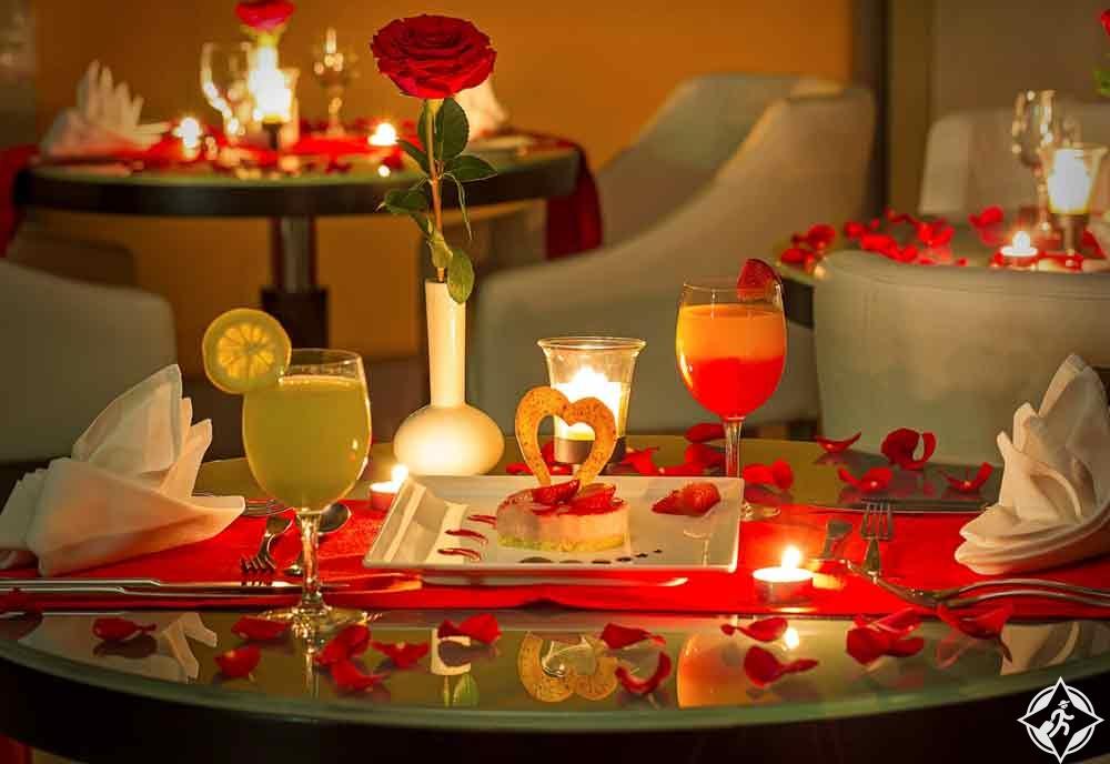 عيد العشاق جراند ملينيوم دبي