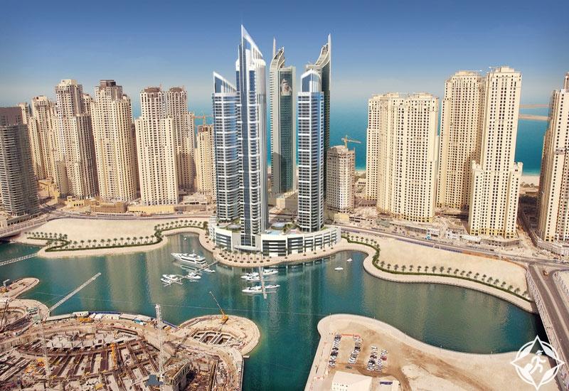 فندق إنتركونتيننتال في خليج دبي المركزي مارينا