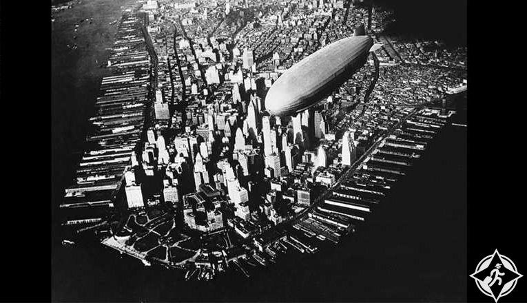 بالصور| كيف تغيرت مدينة نيويورك خلال 100 عام.. من الجو؟
