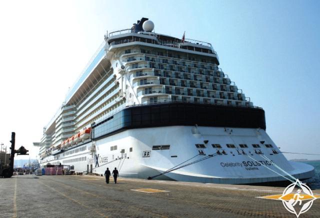 سفن سياحية ميناء راشد