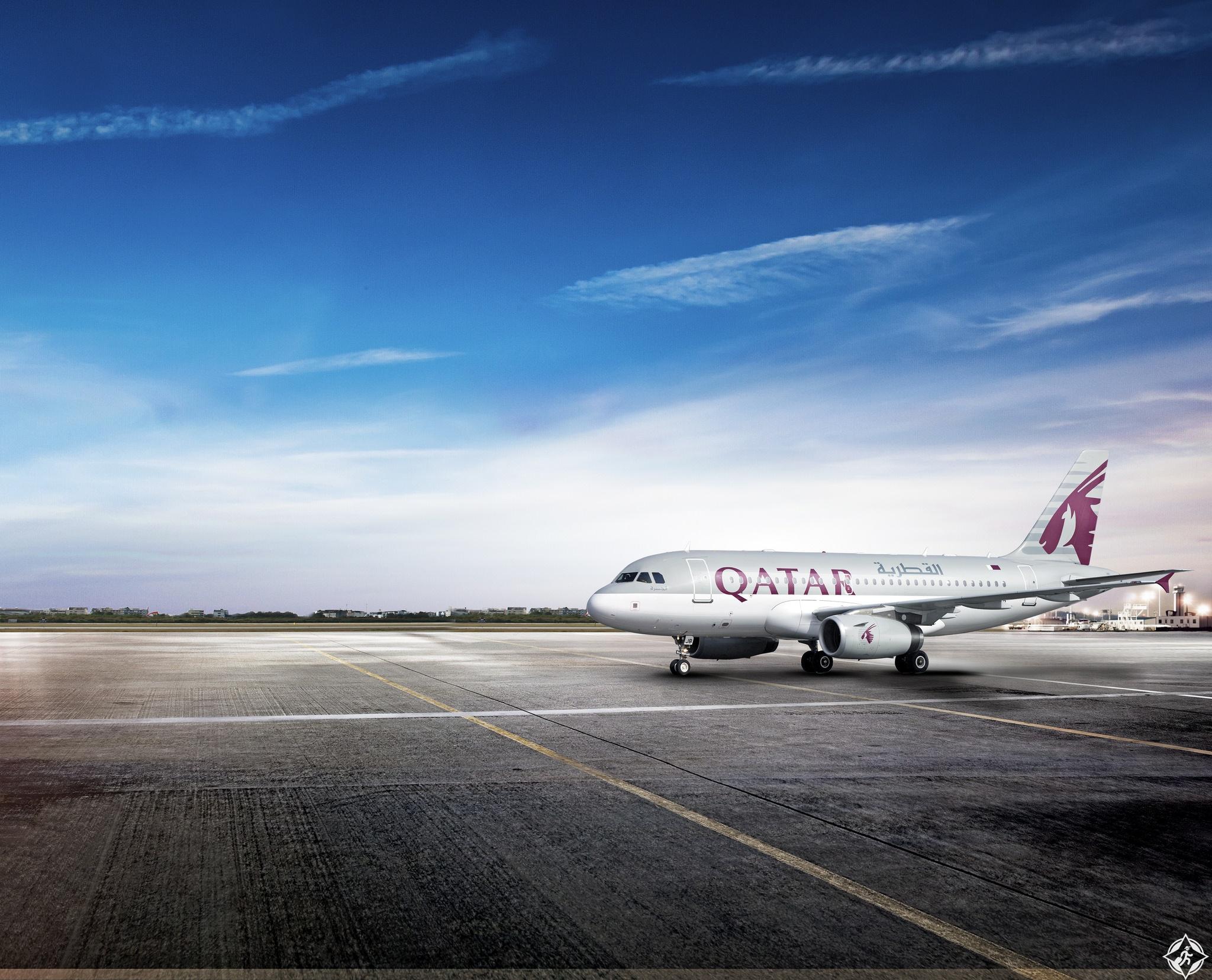 الخطوط القطرية إيرباص A319