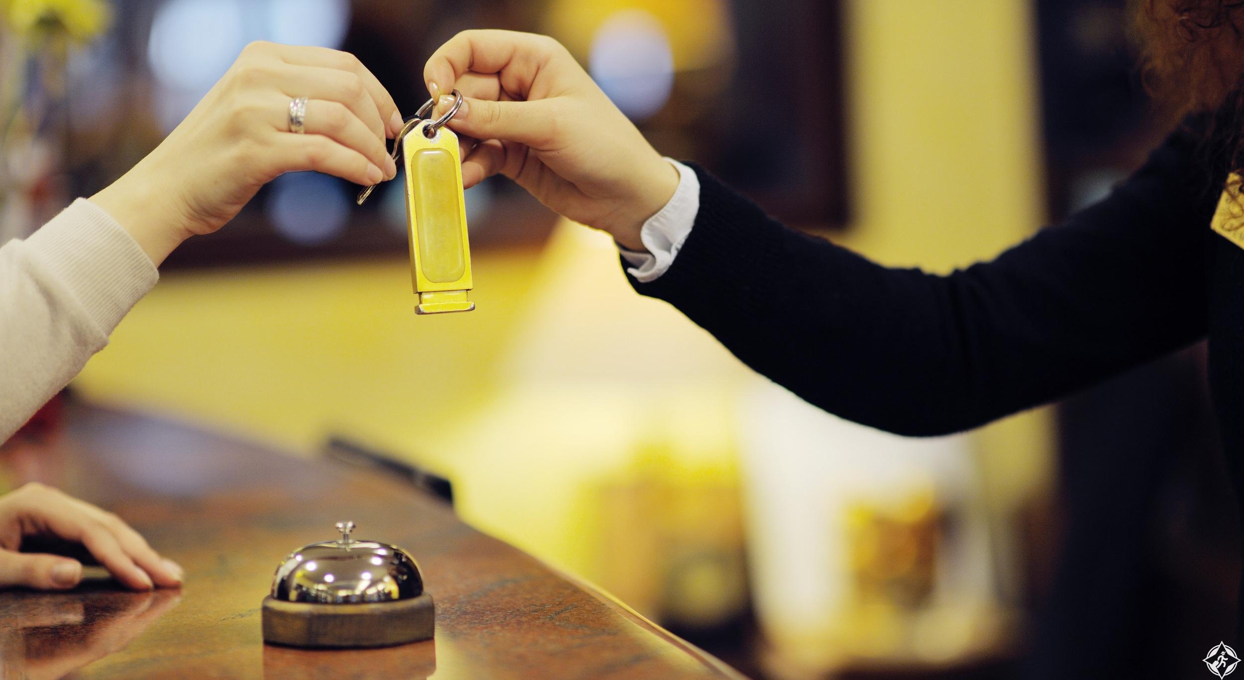 خدمات الفنادق