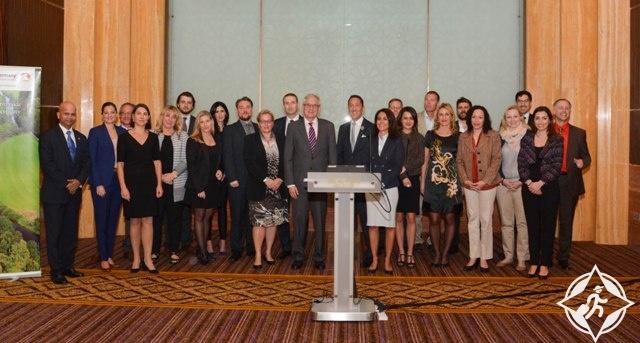 سعادة السفير الألماني لدى دولة الإمارات في الجولة دلال في ألمانيا