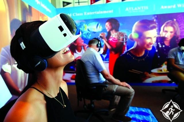 «أتلانتس النخلة» يتيح الغوص الافتراضي للزوار