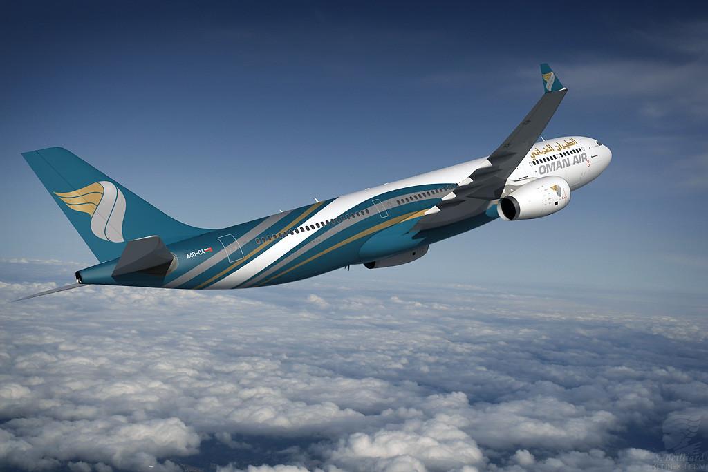 الطيران العماني إلى سنغافورة
