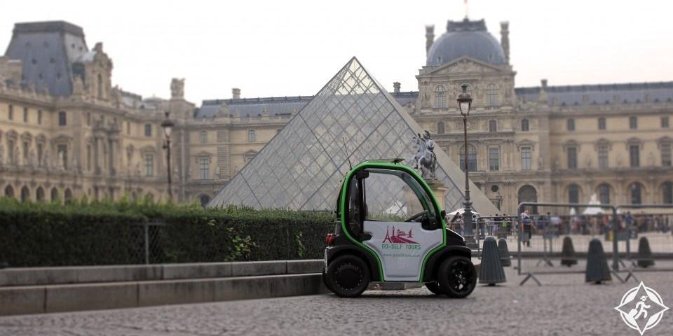 جو-سالف تورز أو Go-Self Tours جولات سياحية في باريس
