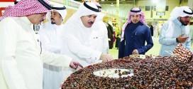 السعودية تستعد لتسجيل أكبر طبق تمر في «غينيس»