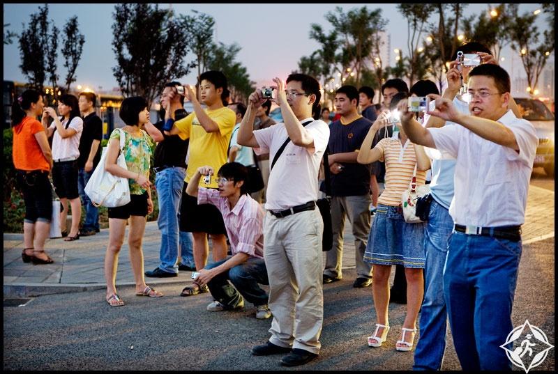 الصين السياح الصينيين