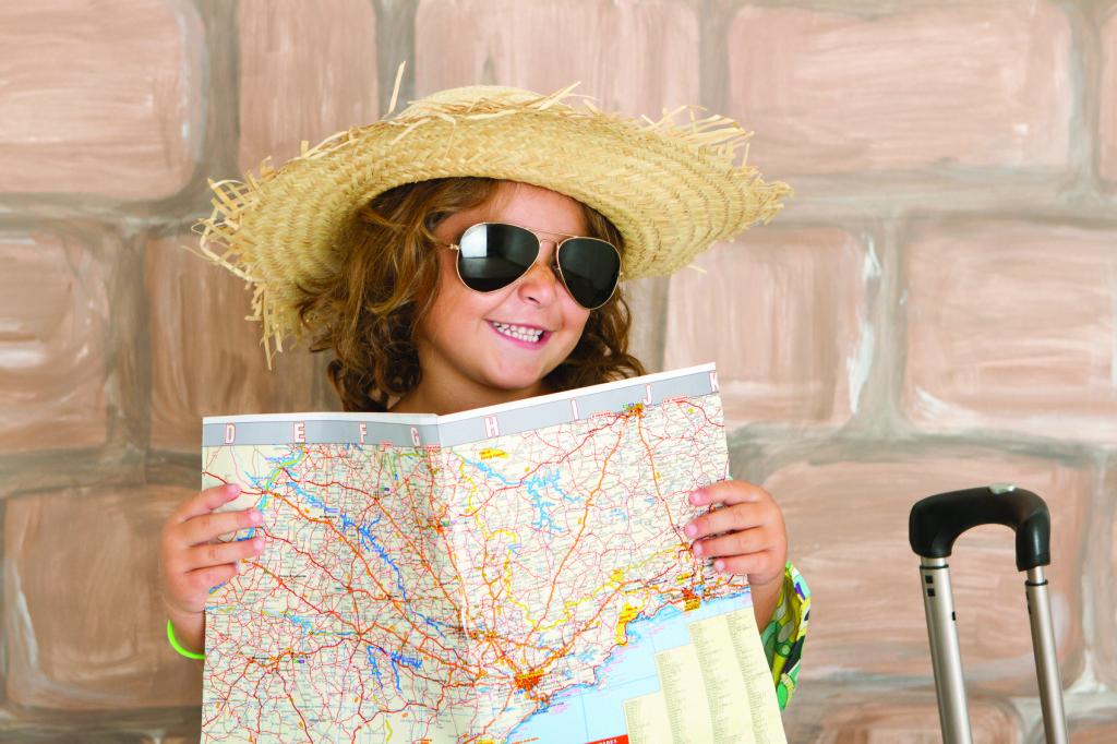 حب السفر منذ الصغر