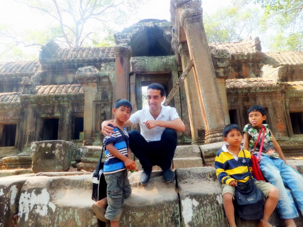 رحلتي إلى كمبوديا