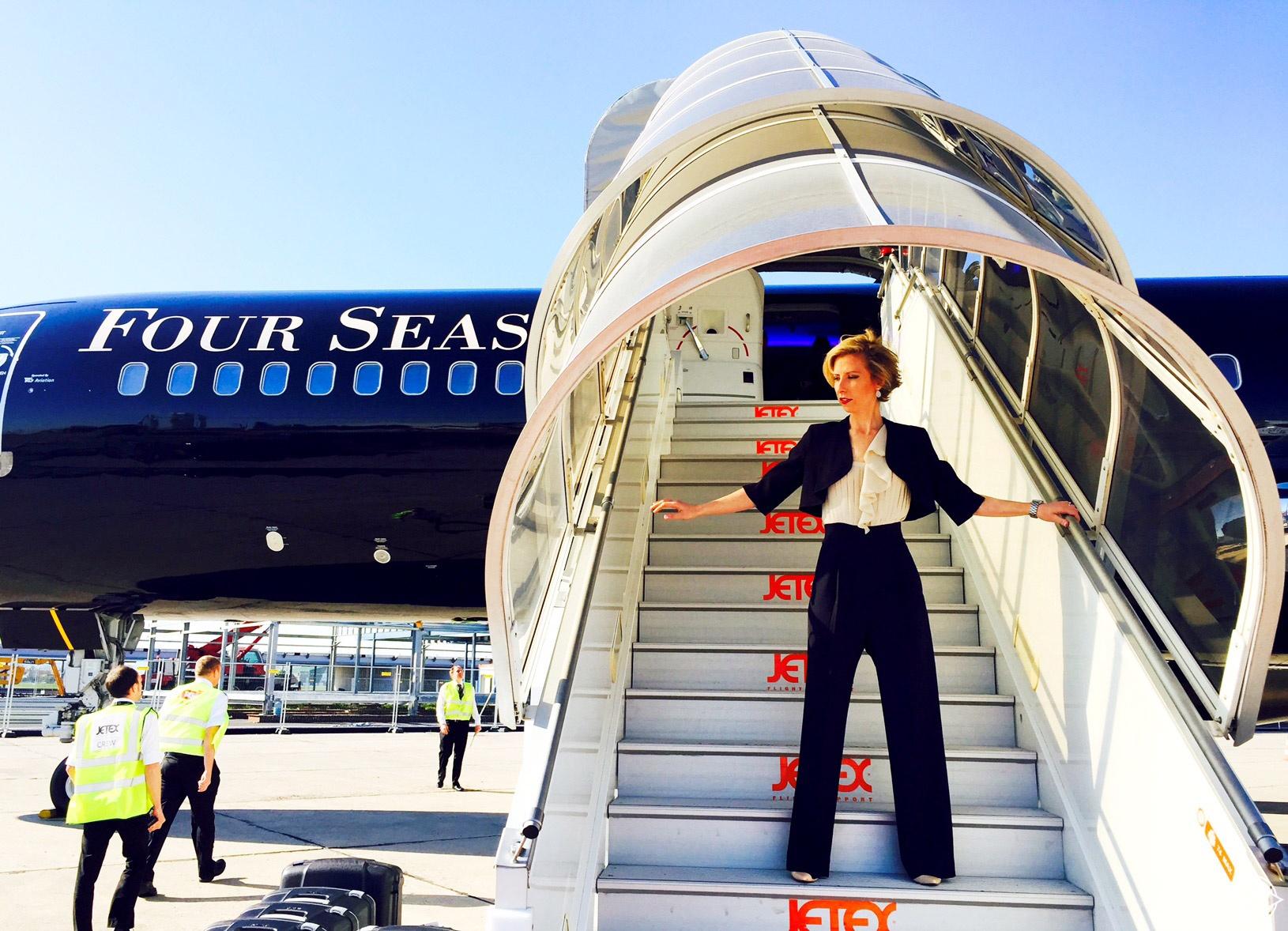 فنادق فورسيزونز تكشف عن أول طائرة فندقية