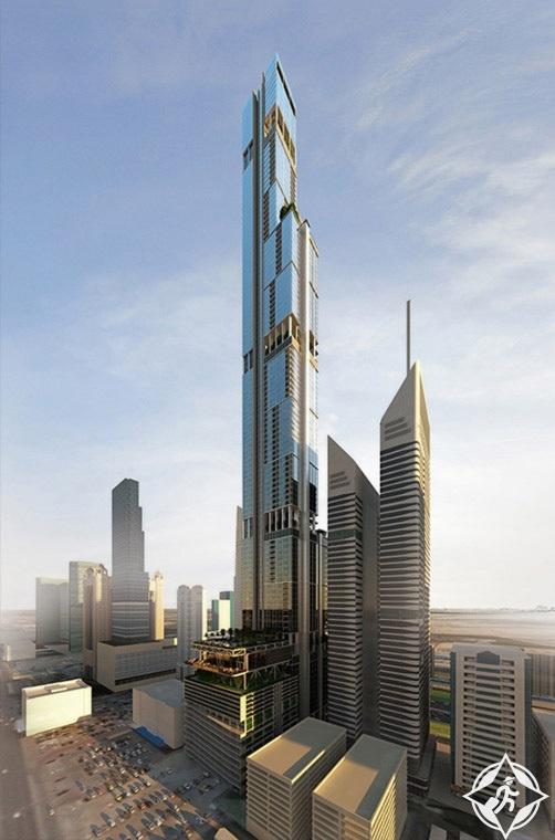 برج انتصار في دبي برج ميدان ثاني أطول برج في دبي