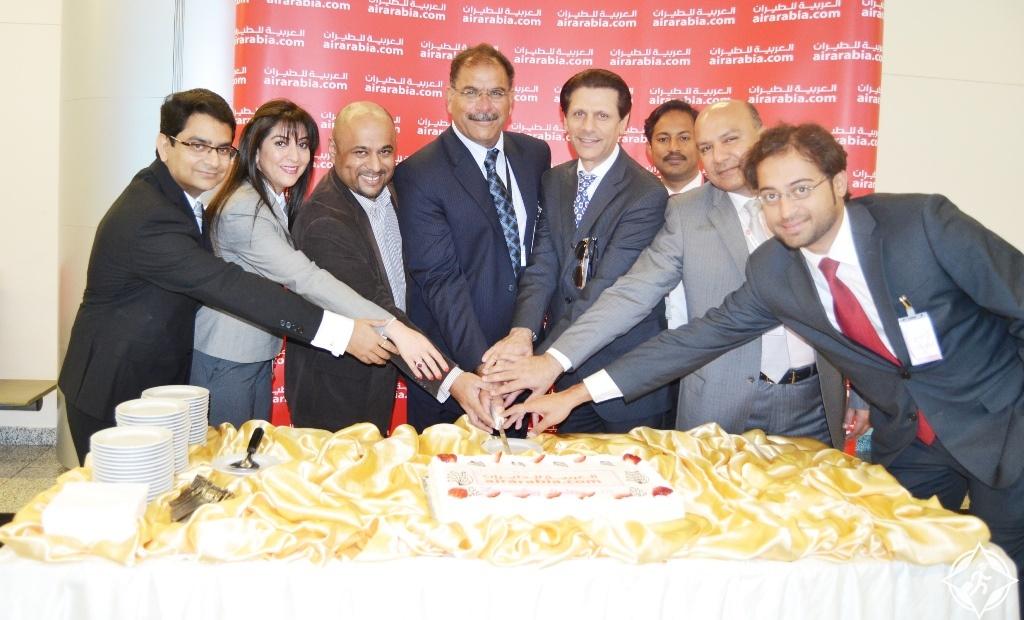 تدشين الرحلة الافتتاحية من العربية للطيران إلى ملتان