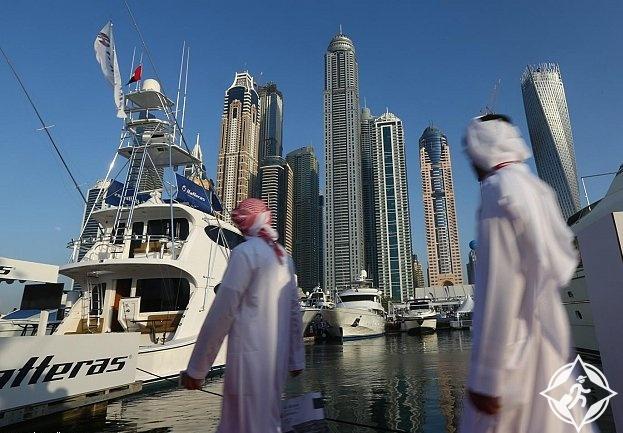 زوار السعودية في دبي