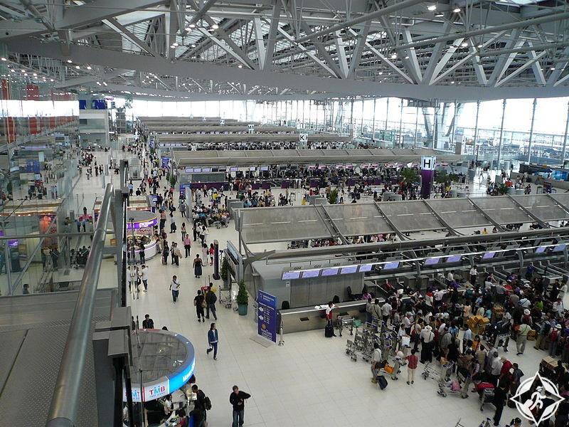 محطة الركاب في مطار سوفارنابومي الدولي