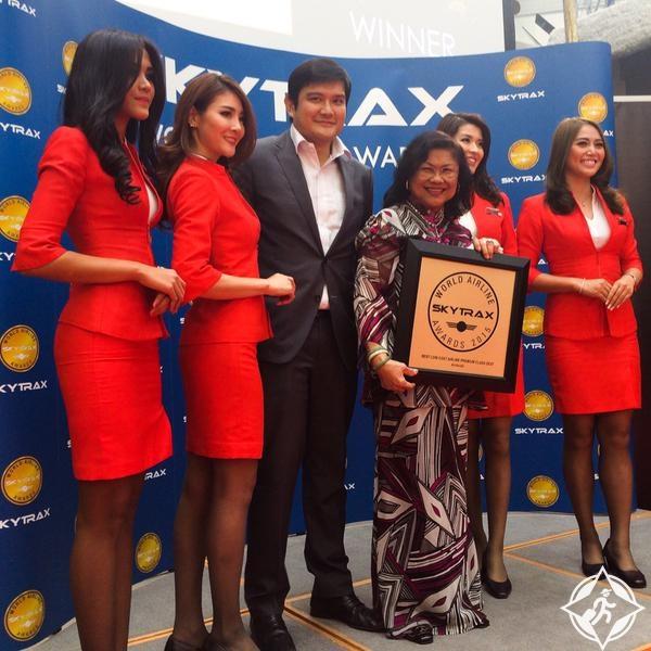إير آسيا أفضل شركة طيران منخفض التكاليف 2015