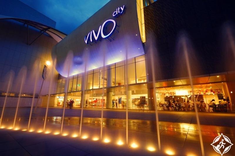 المركز التجاري سنغافورة فيفو سيتي VivoCity