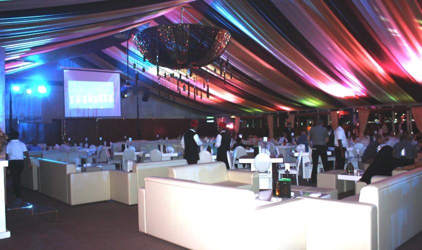 خيمة رمضانية في أبوظبي