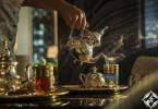 شاي صالون، منتجع فور سيزونز دبي في شاطئ جميرا