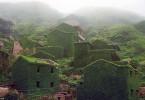 قرية مهجورة في جزيرة شينغشن الصين