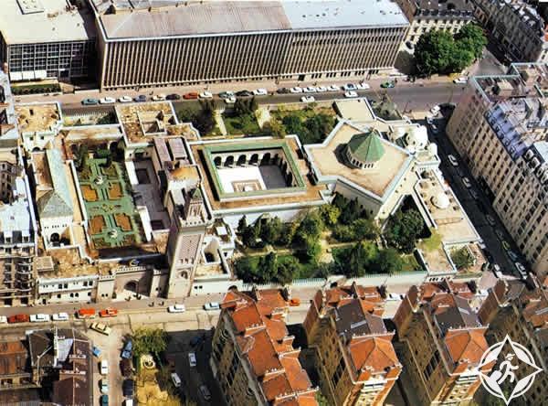المسجد الكبير ، صورة من فوق