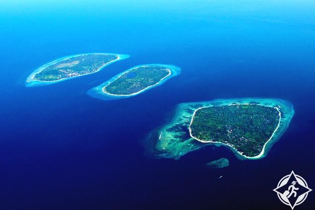 جزر جيلي  اندونيسيا