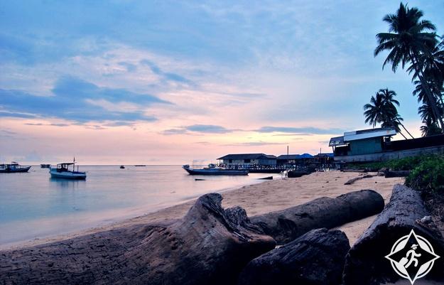 جزر ديراوان في مقاطعة كالمنتان الشرقية