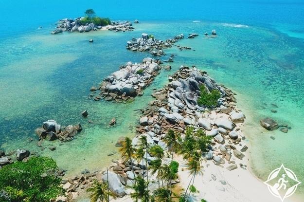 جزيرة بليتونج في إندونيسيا