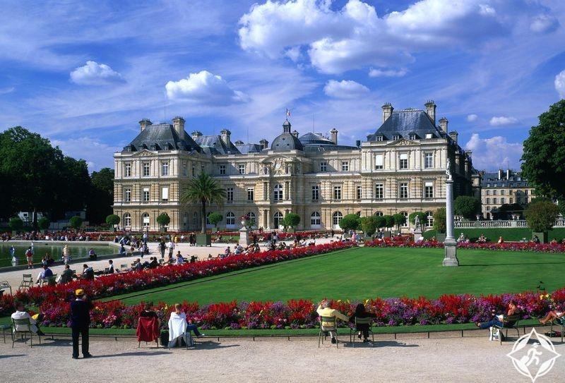 حديقة لوكسمبورغ في باريس