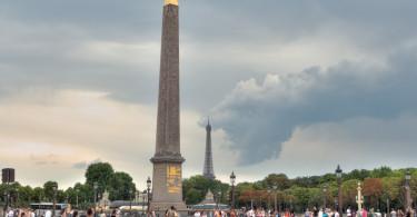 ساحة الكونكورد بباريس
