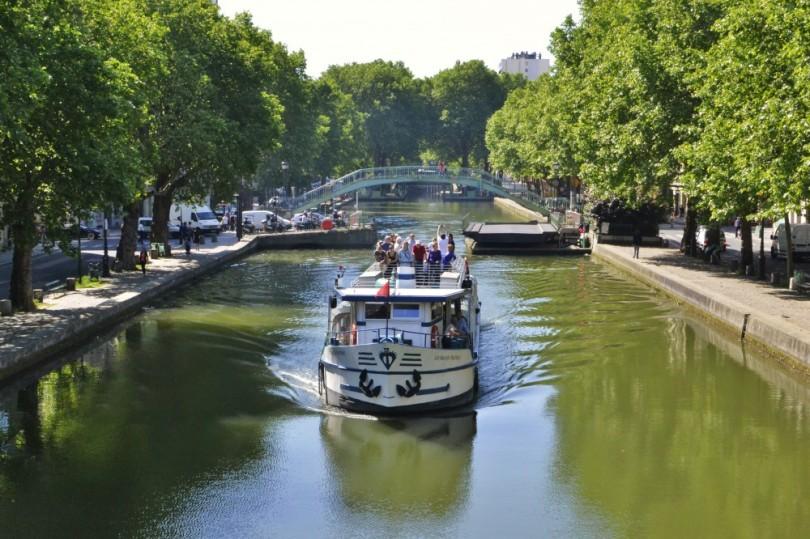 قناة سان مارتن المائية بباريس