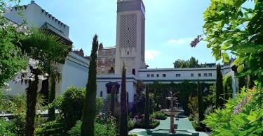 مسجد باريس الكبير من الداخل