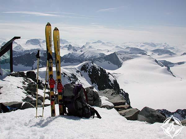 التزلج في فصل الصيف في النرويج