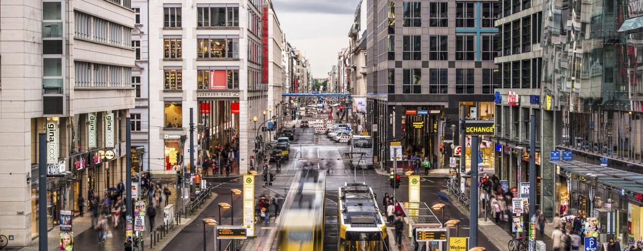 التسوق في برلين