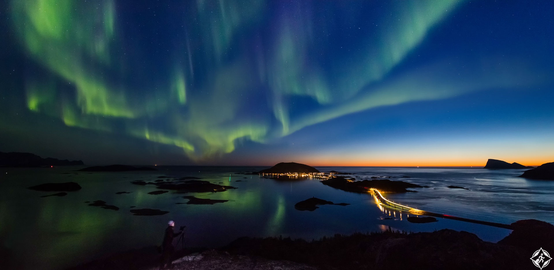 الشفق القطبي الشمالي في النرويج
