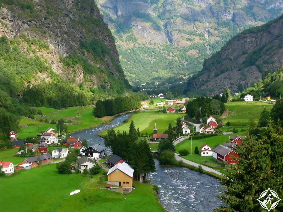 المساحات الخضراء في النرويج