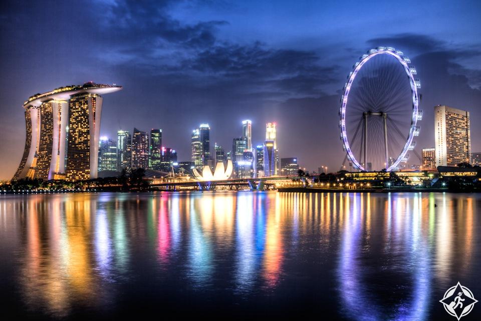 أماكن للإقامة الفاخرة في سنغافورة
