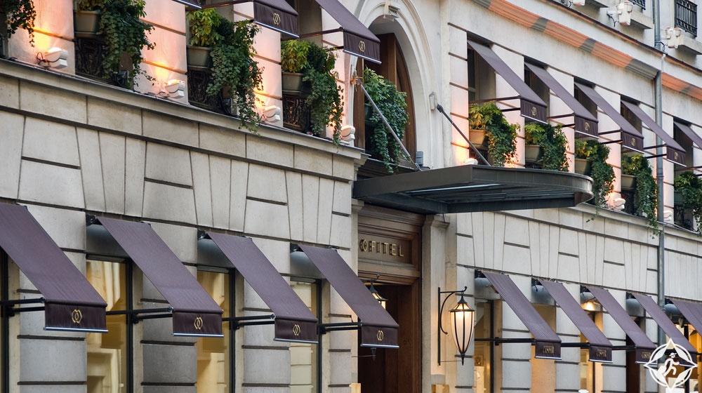 فنادق باريس الفخمة سوفيتل باريس لو فوبور
